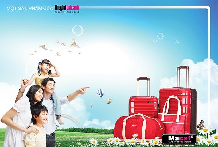 Kinh nghiệm mua vali kéo đi du lịch