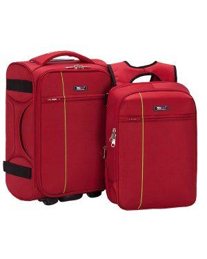 Bộ Vali Balo Laptop Macat V8T - Đỏ